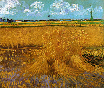Wheat Field with Sheaves 1888