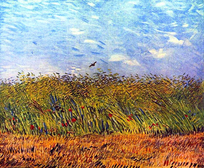 Wheat Field with a Lark1887