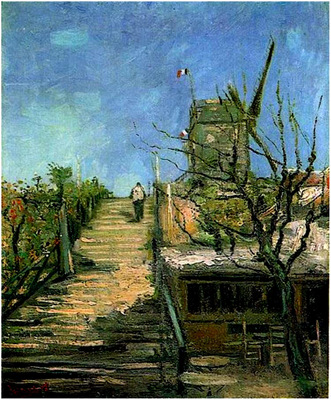 Windmill on Montmartre 1886 jpg