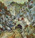 a path through a ravine