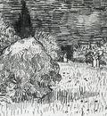 bush in the park at arles  the poet s garden ii