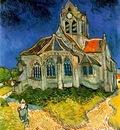 church at auvers aka the church at auvers