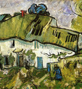 farmhouse with two figures
