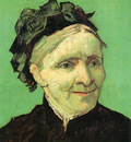 portrait of the artists mother