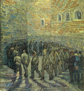 prisoners exercising after dore