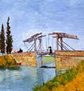 the langlois bridge at arles
