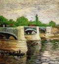 The Seine with the Pont de la Grande Jette