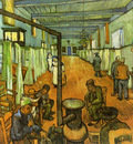 Ward in the Hospital at Arles1889