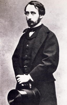 1865 Edgar Degas jeune homme Photographie Paris Bibliotheque nationale