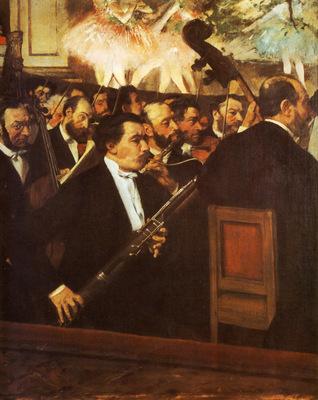 l Orchestre de l Opera Huile sur Toile 565x462 cm Paris musee d Orsay