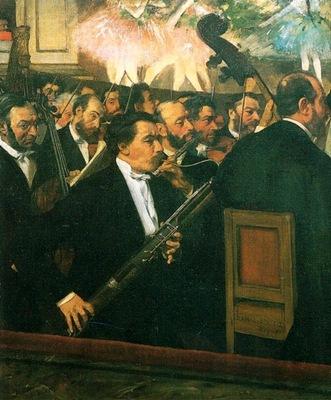 vers Edgar degas L Orchestre de l opera