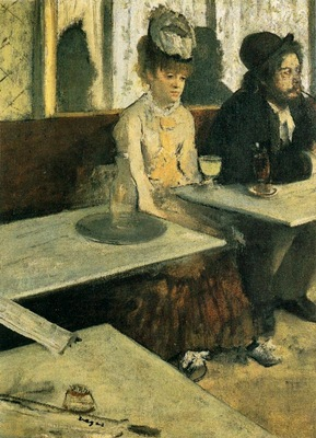 1876 Edgar Degas Au Cafe l absinthe