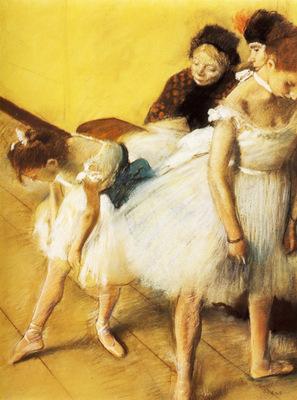 Examen de Danse Danseuses a leur toilette Pastel sur papier 634x482 cm Denver Art Museum