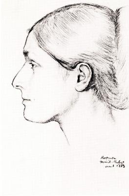 Madame Jacques Fourchy Dessin Crayon conte New York The Metropolitan Museum of Art