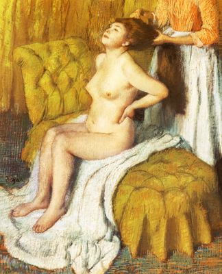 La Toilette Pastel sur papier 74x606 cm New York The Metropolitan Museum of Art
