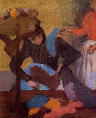 At the Milliner s circa 1905 1910 Musee d Orsay France Drawing pastel