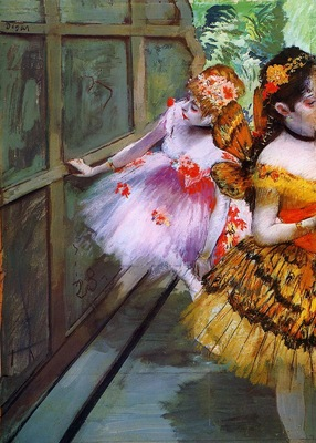 Ballet Dancers in Butterfly Costumes detail circa 1880 Norton Simon Museum United States Drawing pastel