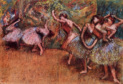 Ballet Scene circa 1907 National Gallery of Art Washington United States oil on canvas