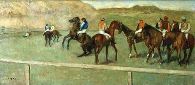 Before the Start 1878 E G Buhrle Collection Switzerland oil on canvas