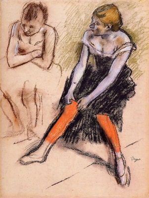 Dancer with Red Stockings 1884 PC