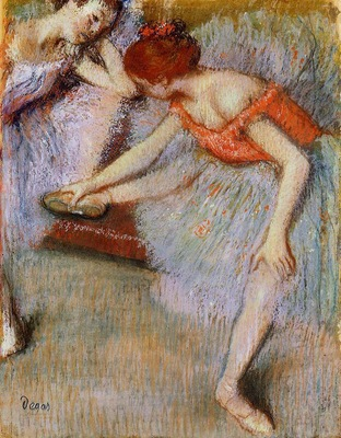 Dancers 1895 Private collection oil on canvas