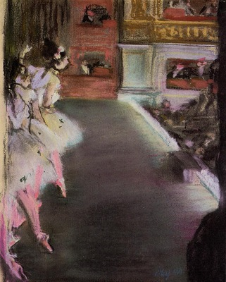 Dancers at the Old Opera House circa 1877 National Gallery of Art Washington USA pastel