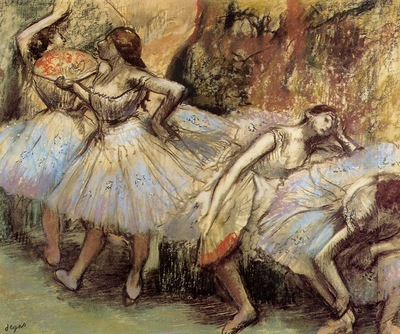 Dancers circa 1897 1901 Private collection pastel