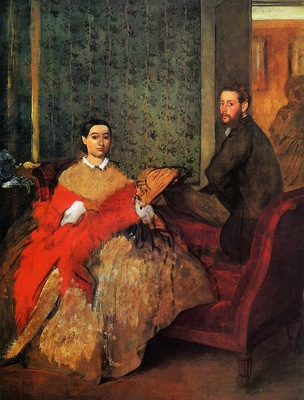 Edmondo and Therese Morbilli 1865 1866 National Gallery of Art Washington USA