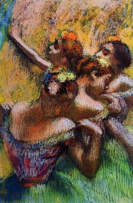 Four Dancers circa 1902 PC