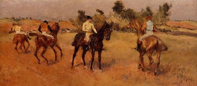 Four Jockeys 1886 1888 PC