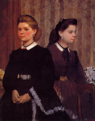 Giovanna and Giulia Bellelli circa 1865 1866 Los Angeles County Museum of Art USA