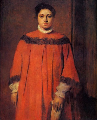 Girl in Red 1873 1876 National Gallery of Art Washington USA