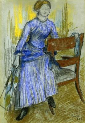 Helene Rouart Mme  Marin 1886 PC