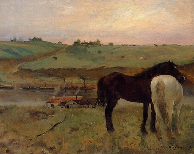 Horses in a Meadow 1871 National Gallery of Art Washington USA