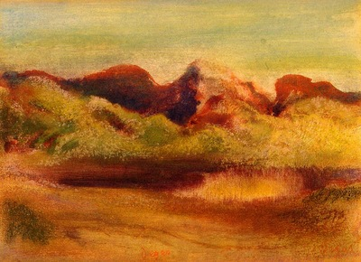 Lake and Mountains 1890 1893 PC
