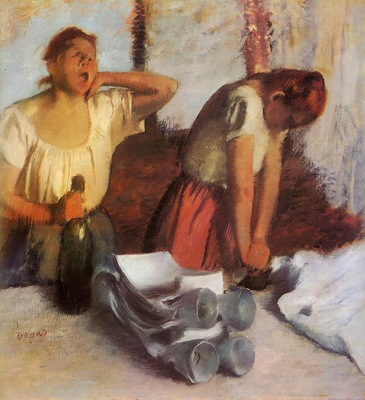 Laundry Girls Ironing 1884 Norton Simon Museum USA
