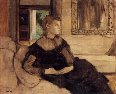 Mme Theodore Gobillard nee Yves Morisot 1869 Metropolitan Museum of Art USA