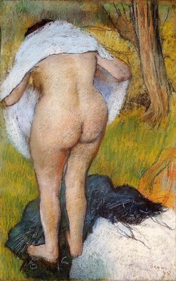 Nude Woman Pulling on Her Clothes 1885 National Gallery of Art Washington USA