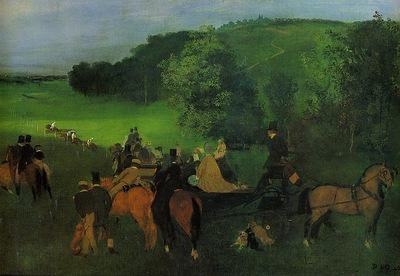 On the Racecourse circa 1860 1862 Kunstmuseum Basel Switzerland