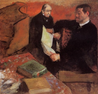 Pagan and Degas Father 1895 PC