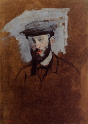 Portrait of Eugene Manet study 1875 PC