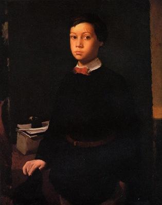Portrait of Rene De Gas 1855 Smith College Museum of Art USA