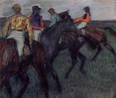 Racehorses circa 1895 1900 National Gallery of Canada