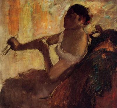 Rose Caron circa 1892 Albright Knox Art Gallery USA