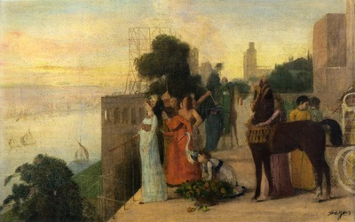 Semiramis Building a City 1861 Private collection