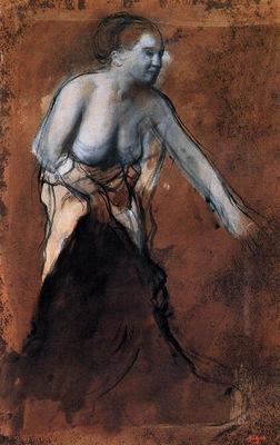 Standing Female Figure with Bared Torso circa 1866 1868 Kunstmuseum Basel Switzerland