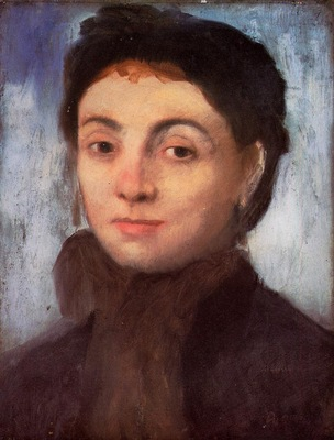 Study for the Portrait of Josephine Gaujean 1867 Hamburger Kunsthalle Germany