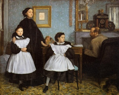 The Bellelli Family 1860 1862 Musee d Orsay France