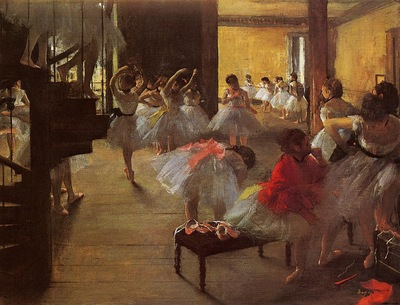The Dance Class 1873 Corcoran Gallery of Art USA