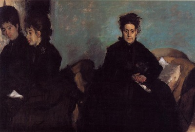 The Duchess di Montajesi with Her Daughters Elena and Camille circa 1876 Museum of Fine Arts USA